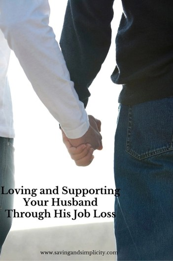 supporting your husband through job loss