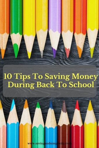 save money back to school