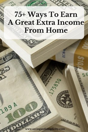 ways to earn extra income
