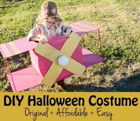 DIY pilot costume