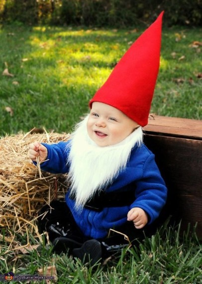 DIY gnome costume