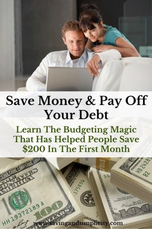Save money and pay down your debt. Learn budgeting magic with You Need A Budget. Learn how YNAB can help you budget and save money.