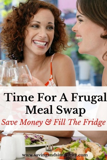 Meal swaps are a great frugal way to spend time with family and friends, exchange meals and save money. Fill your fridge with great meals, learn how.