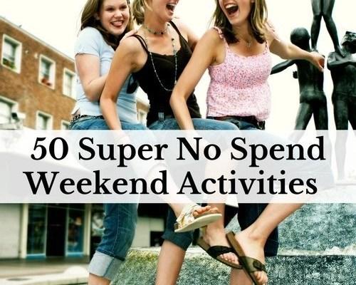 50 Super No Spend Weekend Activities