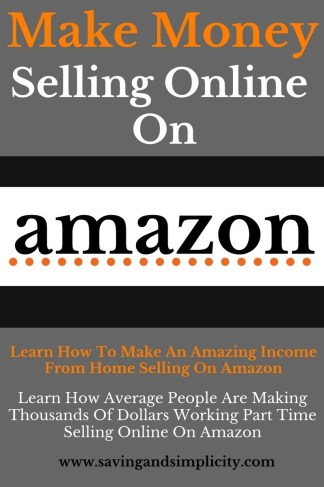 Making money online with amazon saving simplicity for What can i make at home to sell online