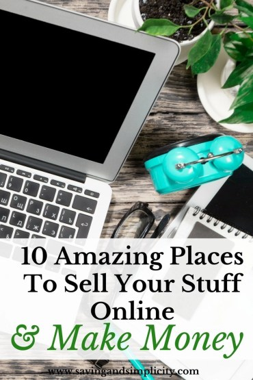 Are you looking to sell your new and used stuff online to make money? Learn 10 amazing places online where you can sell your stuff to make money.