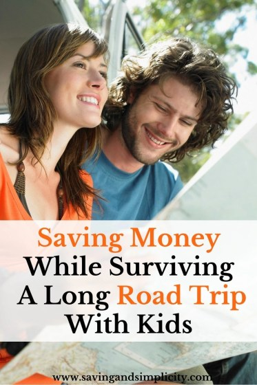 Save the travel melt downs and save your money. Tips for surviving a long road trip with kids all while saving money. Frugal minded travel.