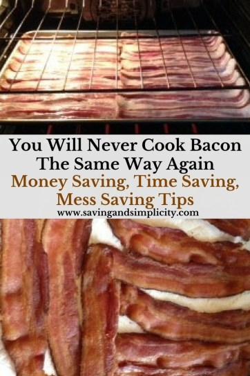 You will never cook bacon the same way again. No more splatter mess, no more time wasting. Learn how to cook bacon the right way - the time saving way.