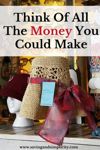 Think of all the money you can make flipping flea market finds and selling online. Learn how you can make a great income selling your thrift store treasures