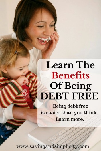 Have you ever dreamed of being debt free? Learn 10 of the most popular benefits of being debt free #5 is my favorite. You too can be debt free learn how.