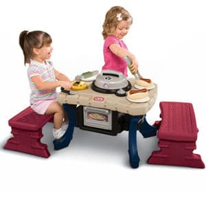 Wonderful Little Tikes Patio Barbeque Set $44.64 Shipped! {Reg. $74.99!}