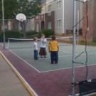 Durham RTP hotel play court