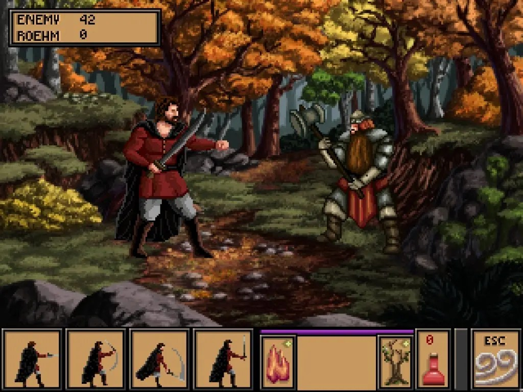 Fighting a Barbarian 2
