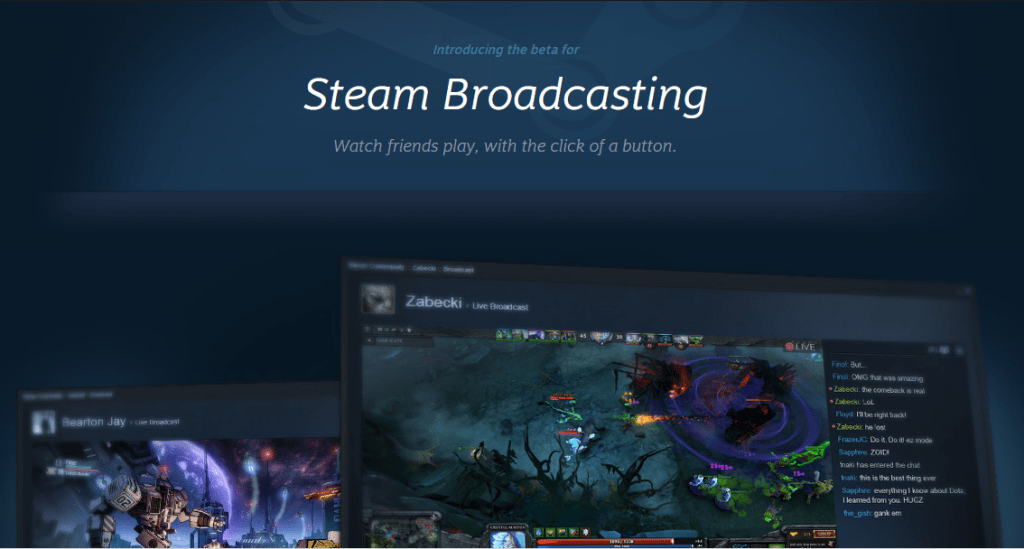 steambroadcast