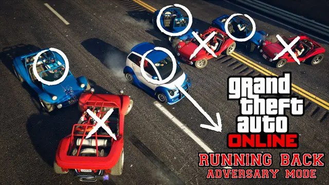 GTA Online Running Back Adversary Mode