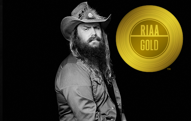 Image result for chris stapleton gold 2017