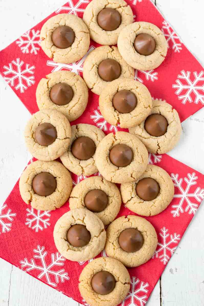 Peanut Butter Blossoms - our holiday favorite from www.savingdessert.com