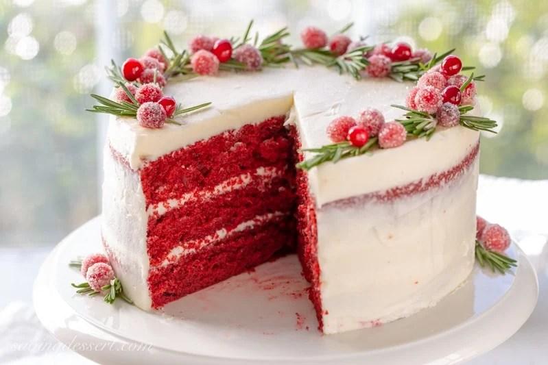 Red Velvet Cake Recipe Saving Room For Dessert