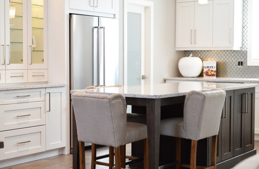 This lovely new kitchen could be yours once you ready your money for a mortgage