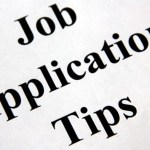 Four Pieces of Information Need for Job Applications