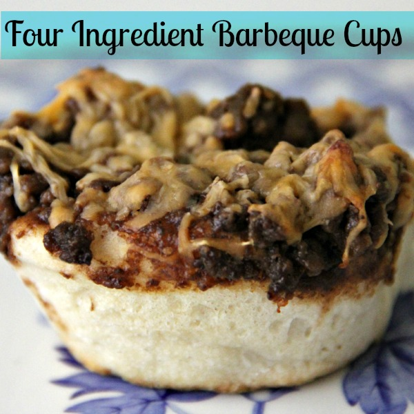 4 Ingredient Barbecue Cups