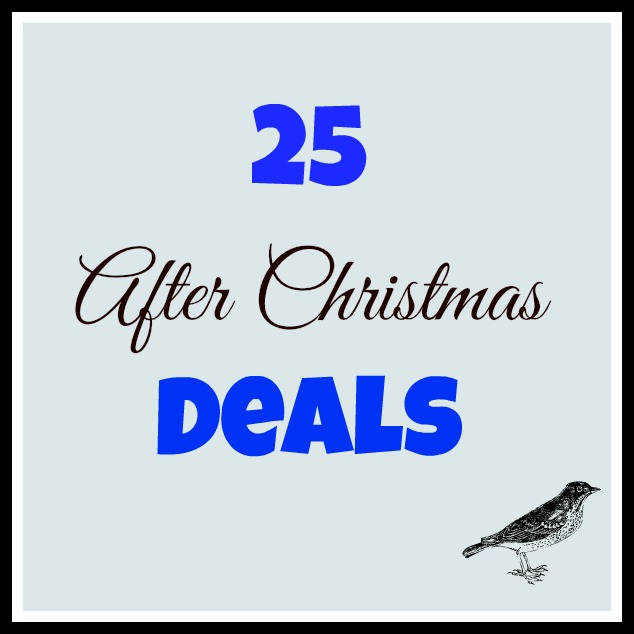 After Christmas Deals.25 After Christmas Bargains Earning And Saving With Sarah