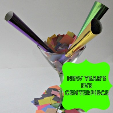 New Year's Eve Centerpiece-Easy, Inexpensive