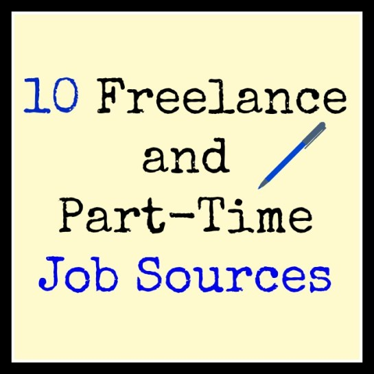 10 Freelance and Part Time Job Sources