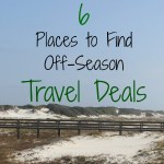 6 Place to Find Off-Season Travel Deals