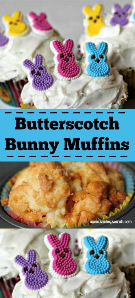 Delicious Butterscotch Bunny Muffins