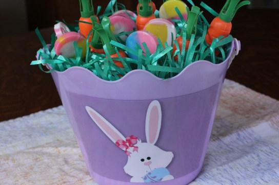 Easter Basket Close Up with All