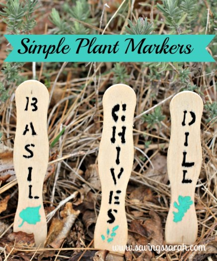 Simple Plant Markers