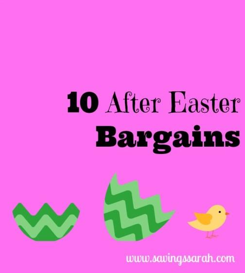 10 After Easter Bargains