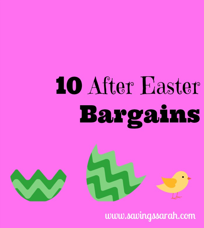 10 After Easter Bargains