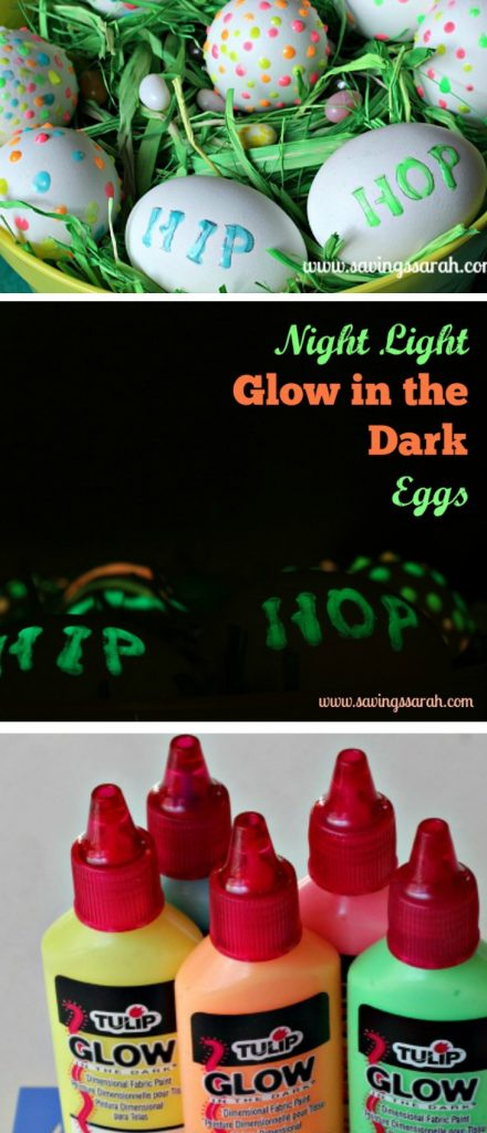 Night Light Glow in the Dark Easter Eggs
