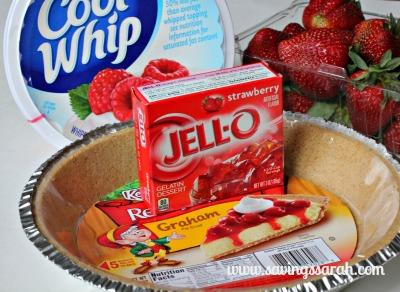 Strawberry Pie Ingredients