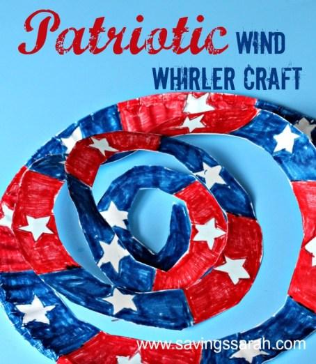 Patriotic Wind Whirler Craft