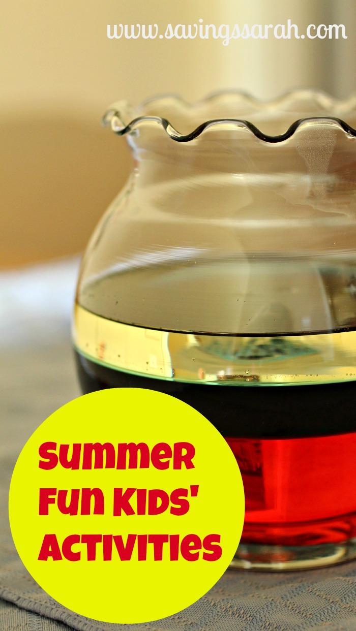 Summer Fun Kids' Activities Resources
