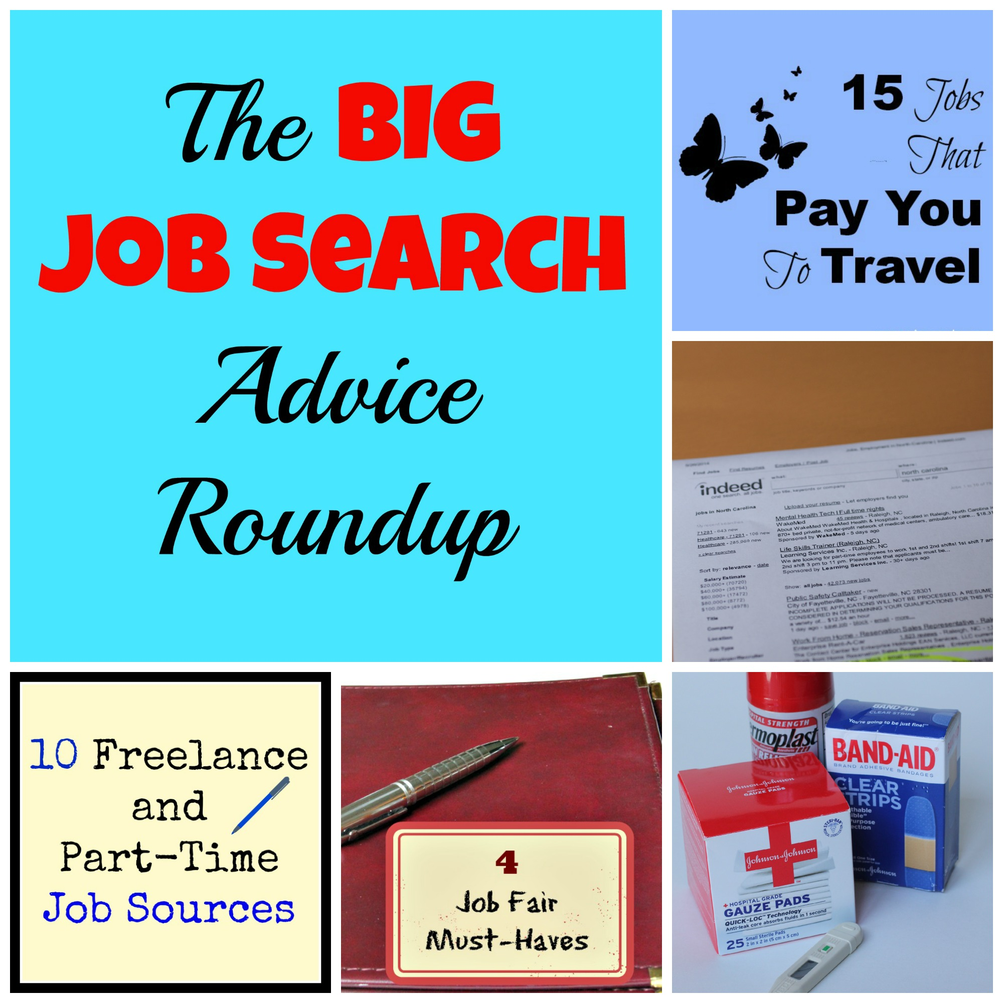 The Big Job Search Advice Roundup Collection