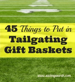45 Things to Put in Tailgating Gift Baskets