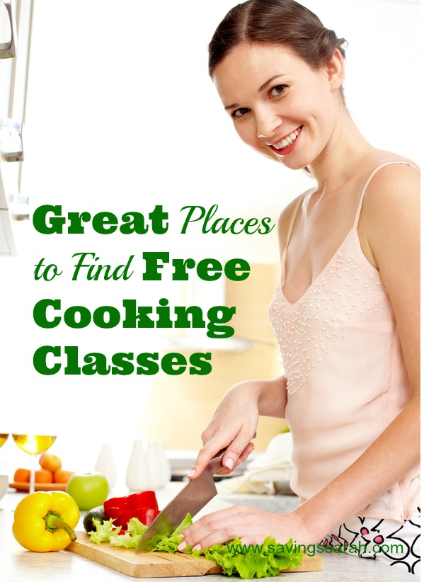 Great Places to Find Free Cooking Classes