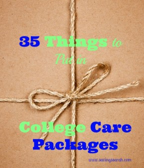 35 Things to Put in College Care Packages