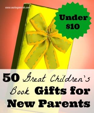 50 Great Children's Book Gifts Under $10
