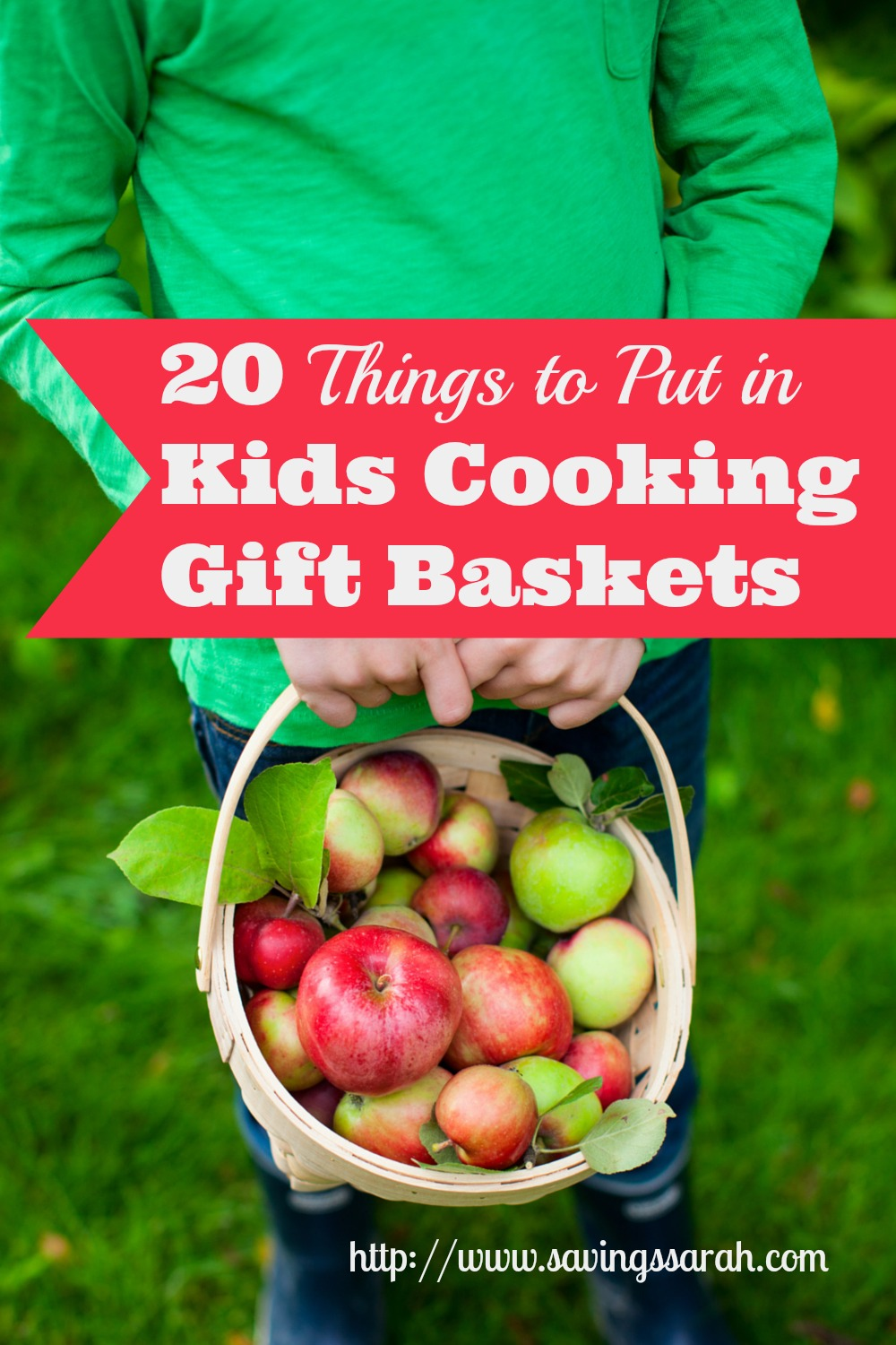 20 Things to Put in Kids Cooking Gift Baskets - Earning and Saving with Sarah