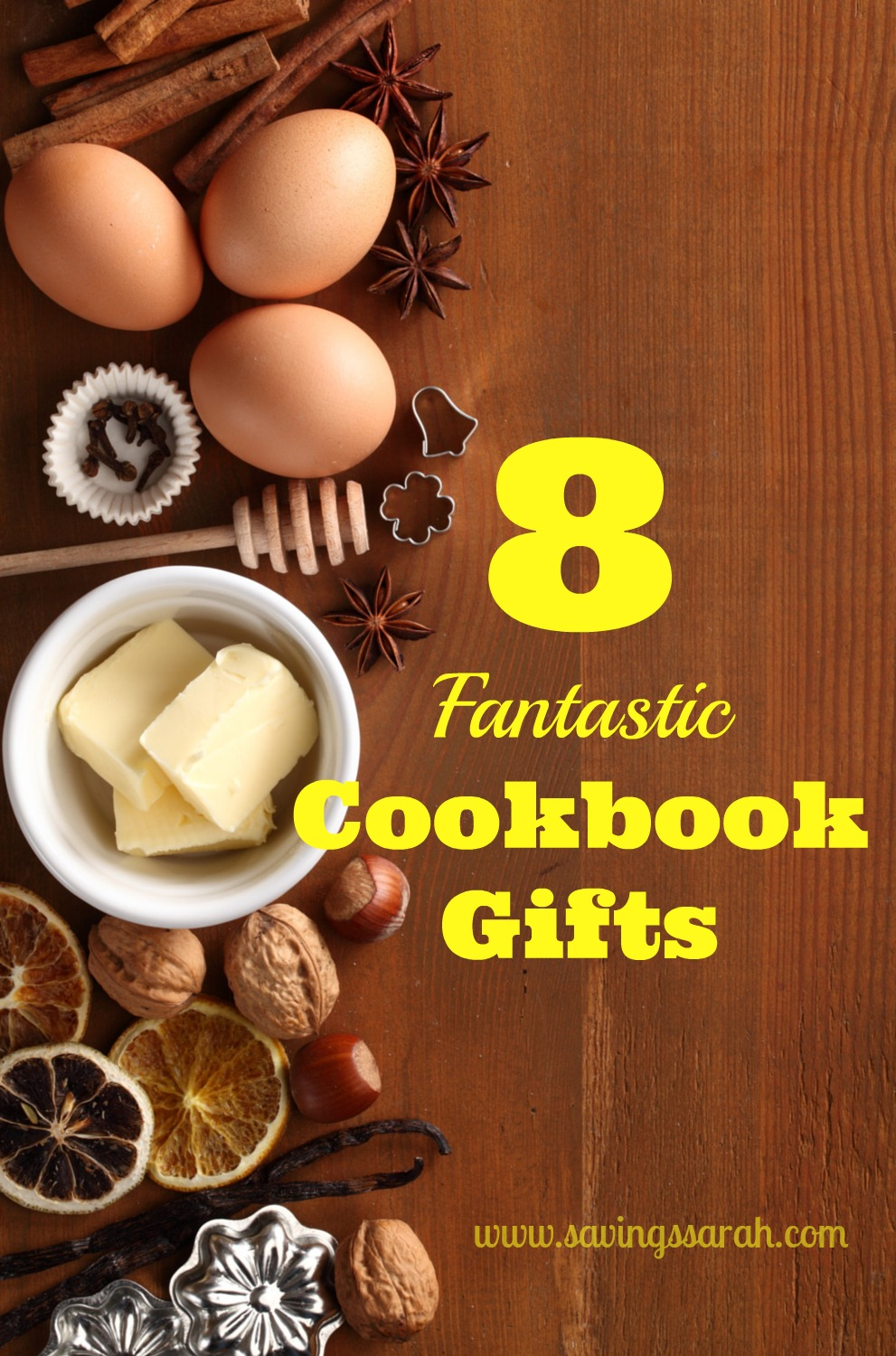 8 Fantastic Cookbook Gifts That Will Get Used Over and Over