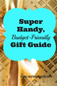 Super Handy, Budget-Friendly Gift Guide