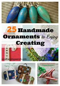 25 Handmade Ornaments for Creating