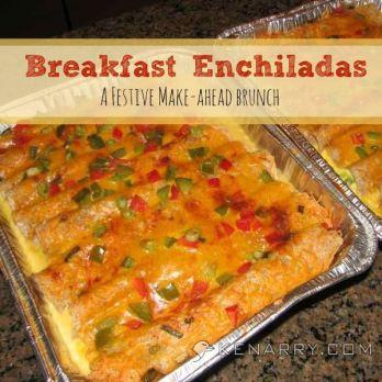 Breakfast Enchiladas
