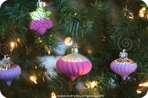 Hand Dipped Painted Ornaments
