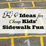 14 + Ideas for Cheap Kids' Summer Fun